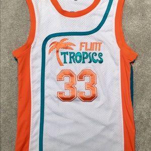 Jackie Moon #33 Flint Tropics Basketball Jersey M